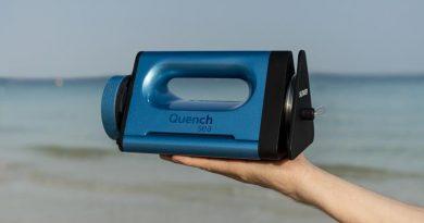 Lançado o dispositivo portátil de dessalinização mais acessível do mundo