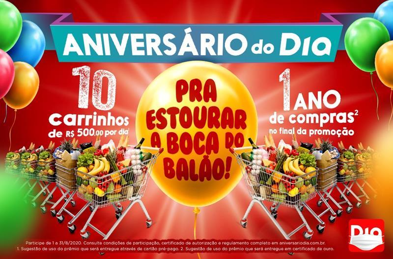 Campanha de Aniversário do DIA Brasil