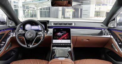 Melhor da categoria: novo Mercedes-Benz S-Class conta com cockpit com IA de última geração e tecnologia da NVIDIA Enterprise