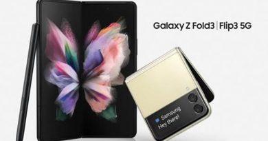 Samsung abre o novo com o lançamento dos novos Galaxy Z Fold3 5G e Z Flip3 5G no Brasil